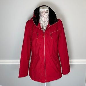 Weatherproof Red Small Lined Raincoat